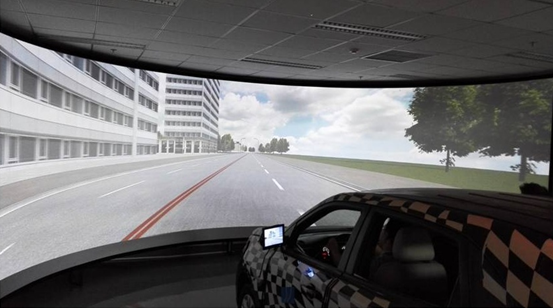 Driving Simulator for ADAS - PanoSim Technologies